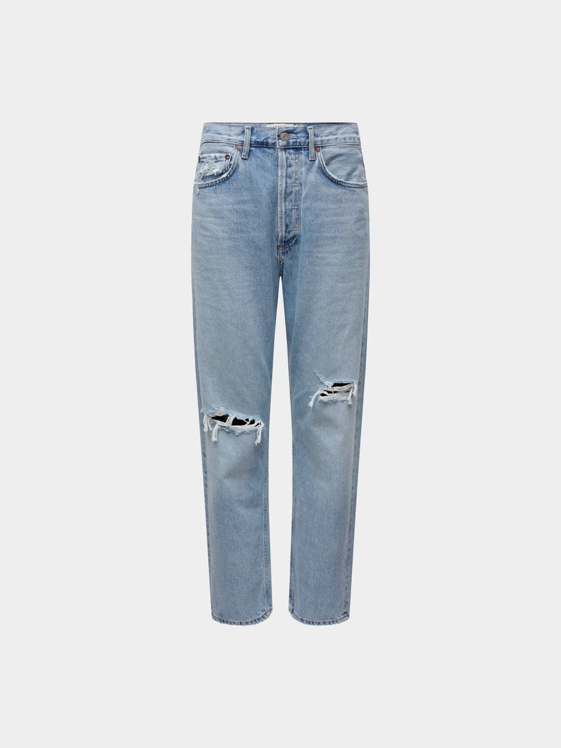AGOLDE Jeans im Destroyed-Look Blau - 1