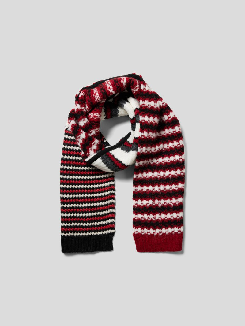 Marni Schal mit Muster-Mix Rot - 1