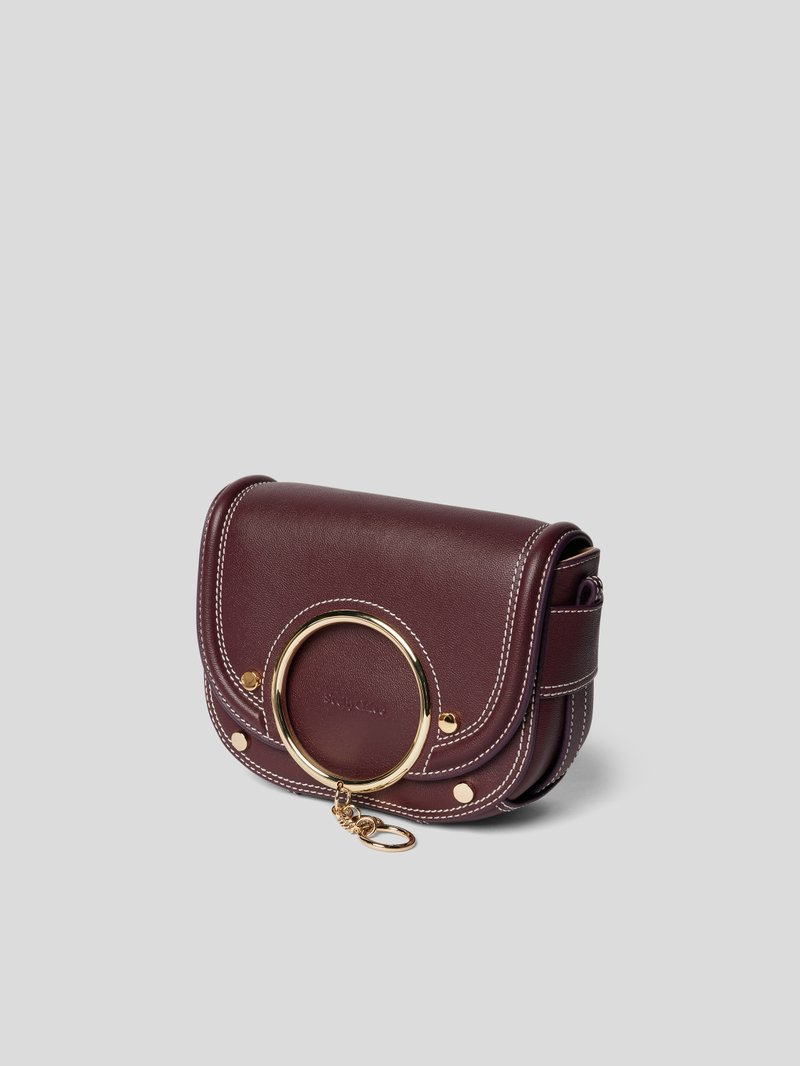 See by Chloé Saddle Bag mit Applikation Rot - 1
