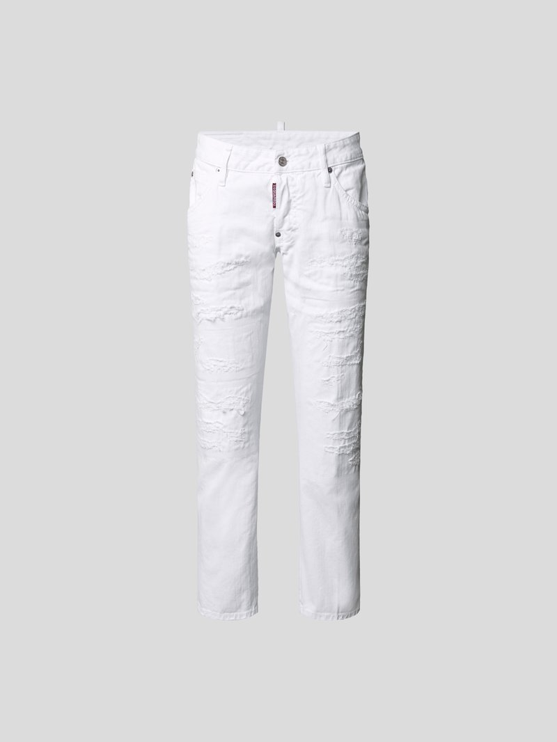 Dsquared2 Jeans im Destroyed-Look Weiß - 1