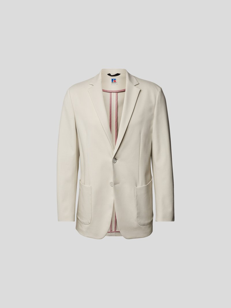 BOSS x Russell Athletic Sakko mit Kissing Buttons Beige - 1