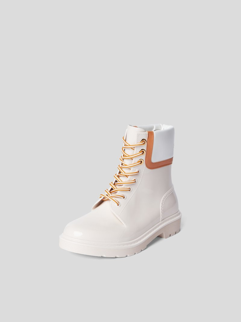 See by Chloé Boots mit Brand-Detail Beige - 1