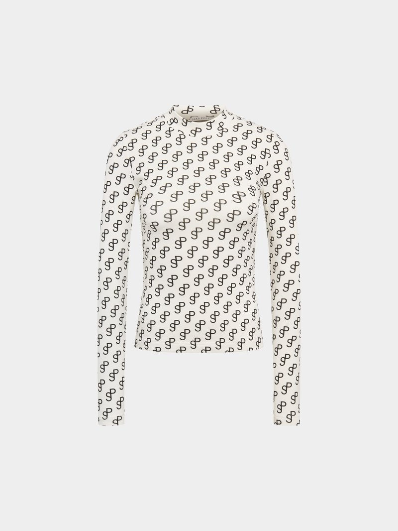 Saks Potts Shirt mit Allover-Print - 1