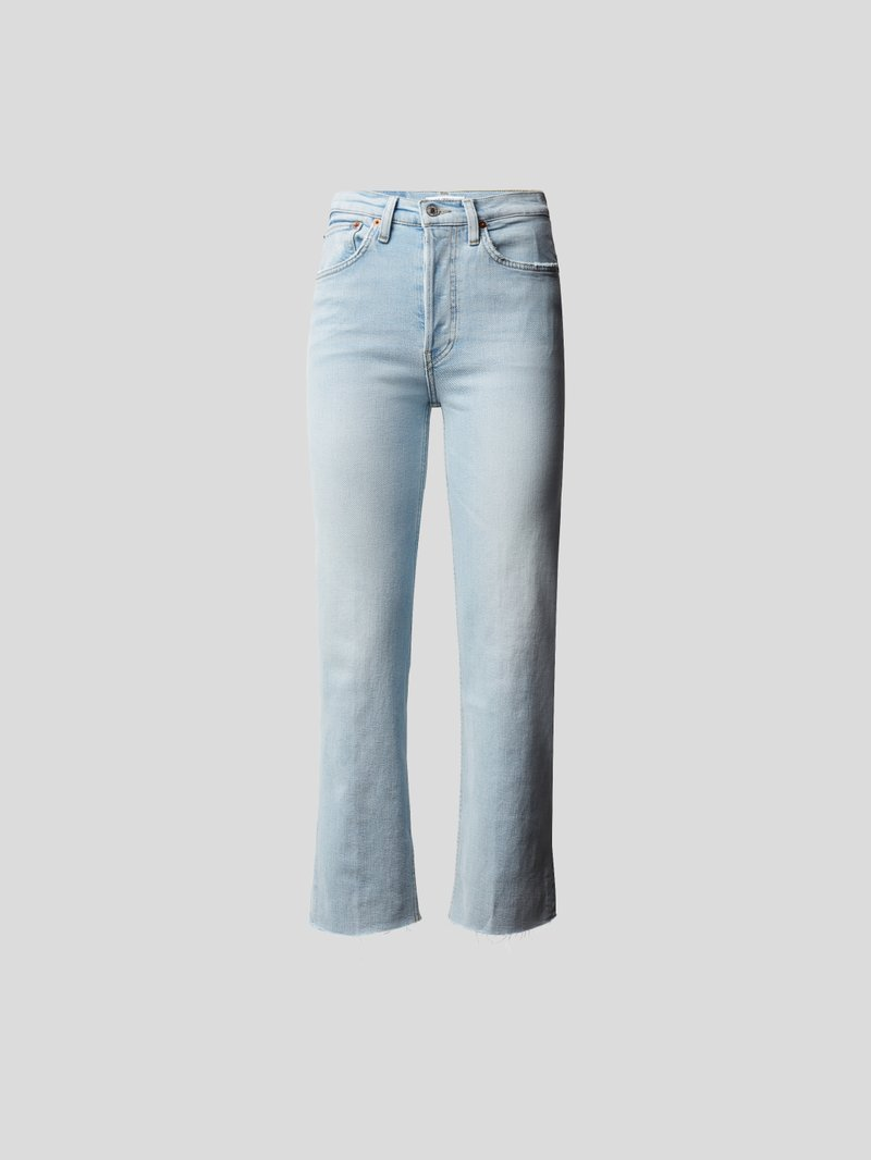 RE/DONE Straight Fit Jeans Blau - 1