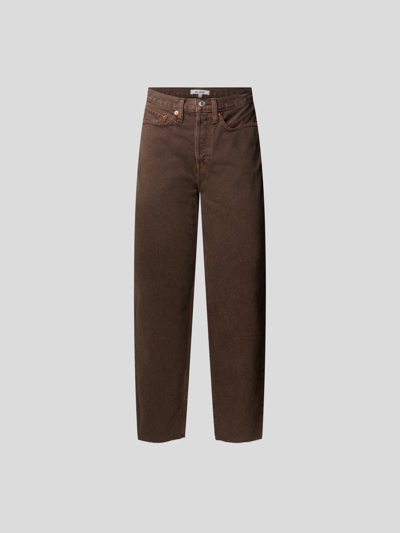 RE/DONE Straight Fit Jeans Braun - 1