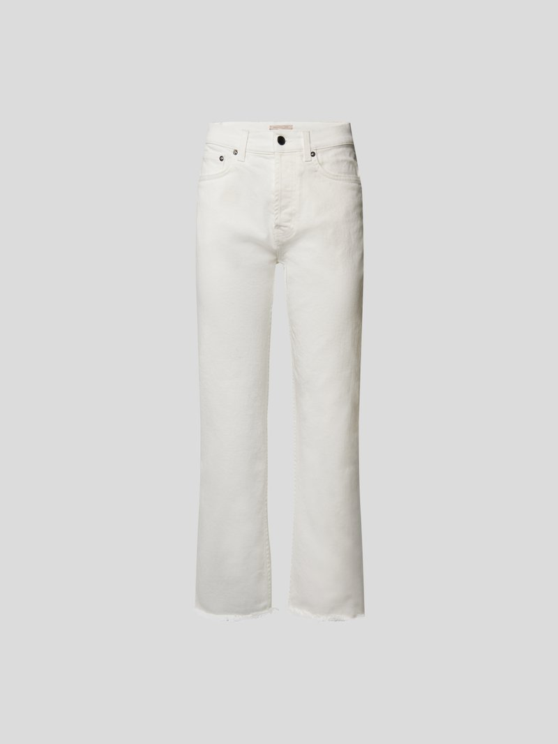 Christopher Kane Straight Fit Jeans Weiß - 1