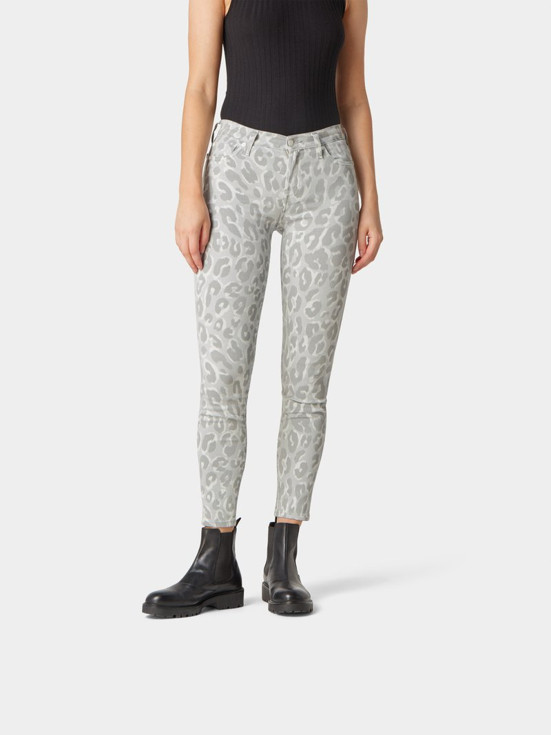7 for all Mankind Jeans mit Animal-Print MULTI STYLEBOP - 1