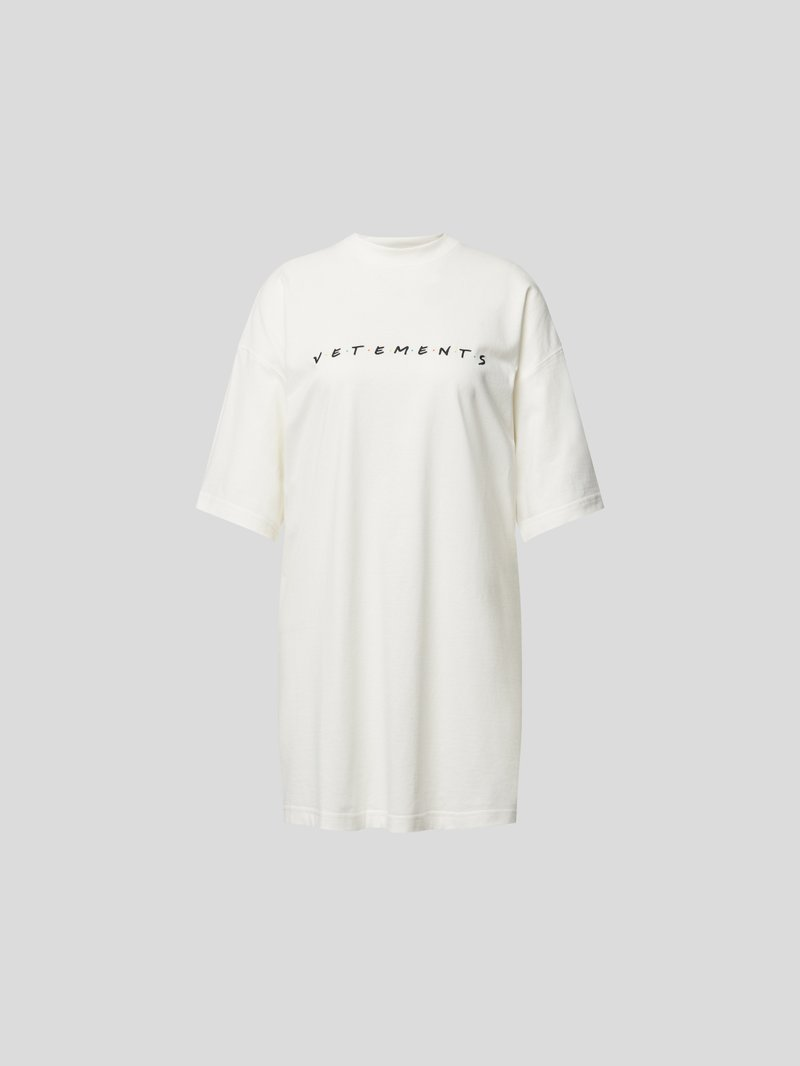 VETEMENTS Unisex T-Shirt mit Print Weiß - 1