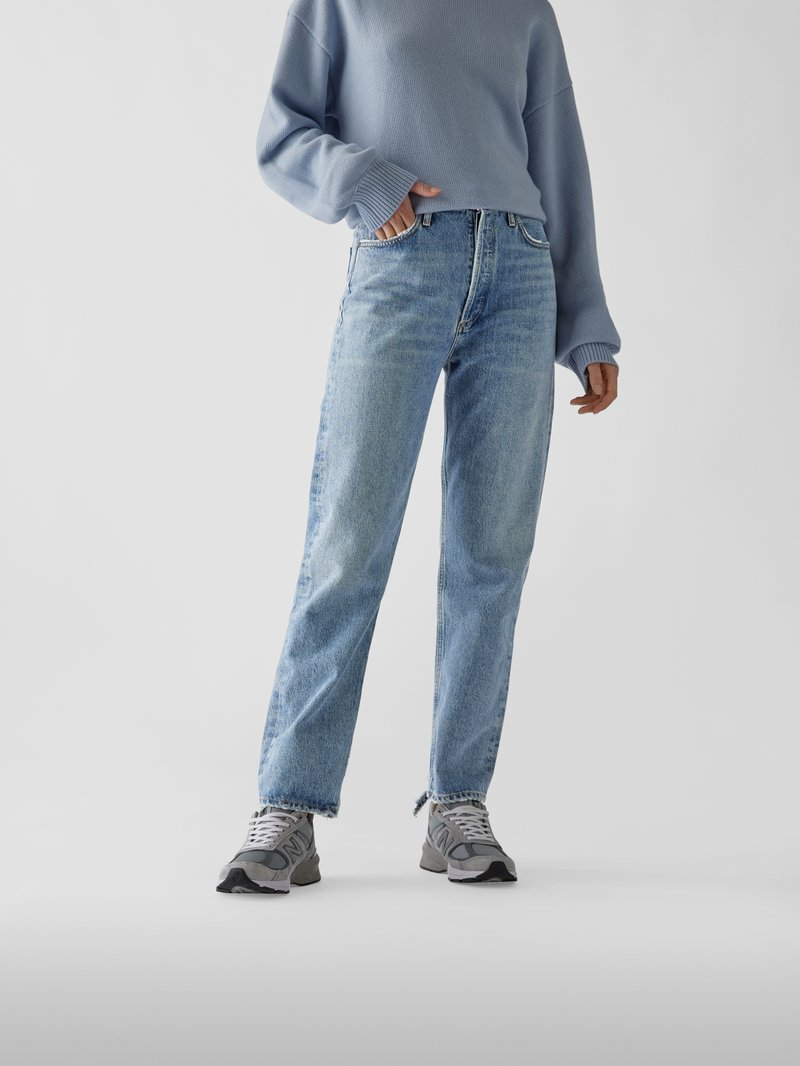 AGOLDE High Waist Jeans im Straight Fit Jeans - 1