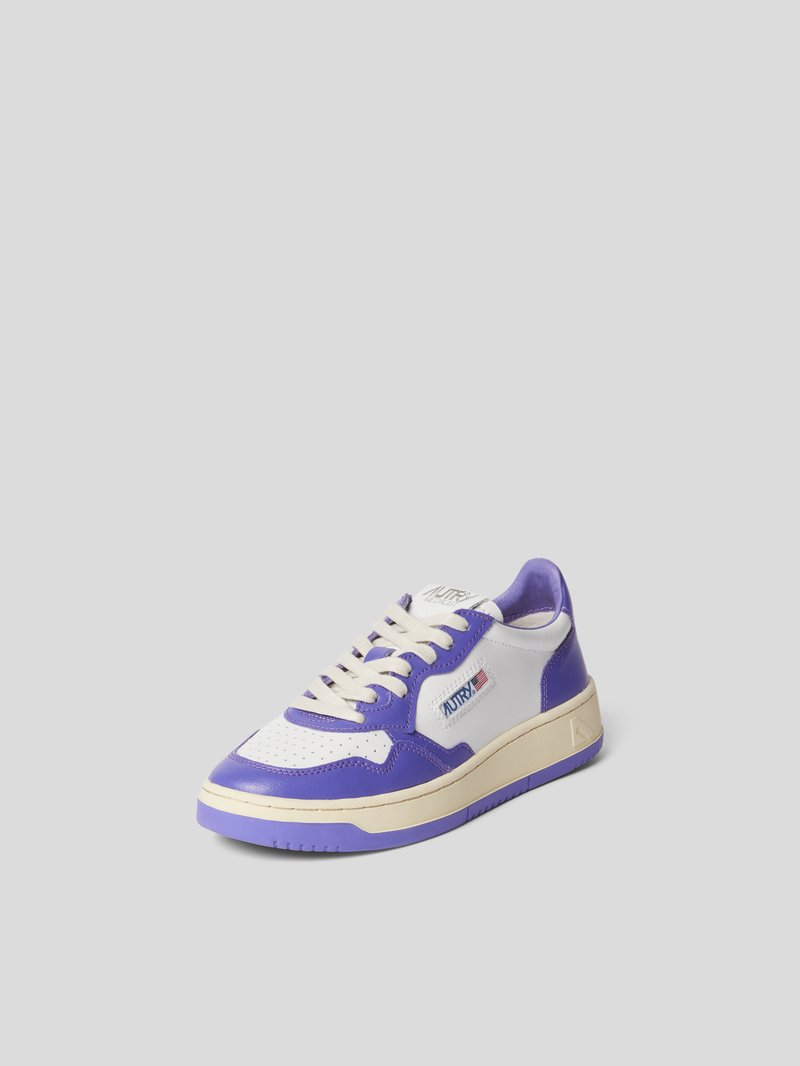 Autry Sneaker mit Brand-Patch Lila - 1