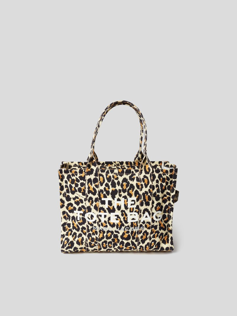 Marc Jacobs Tote Bag mit Animal-Print Offwhite - 1