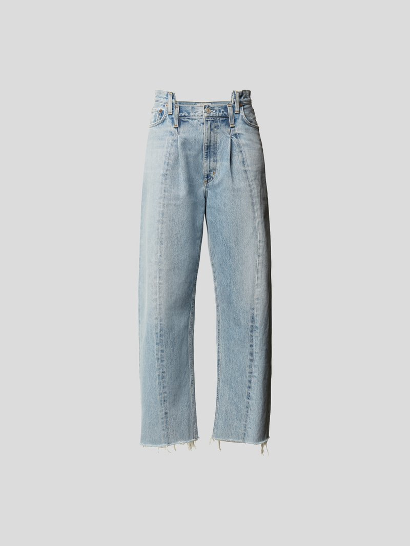 AGOLDE Mid Rise Jeans im Relaxed Fit Blau - 1