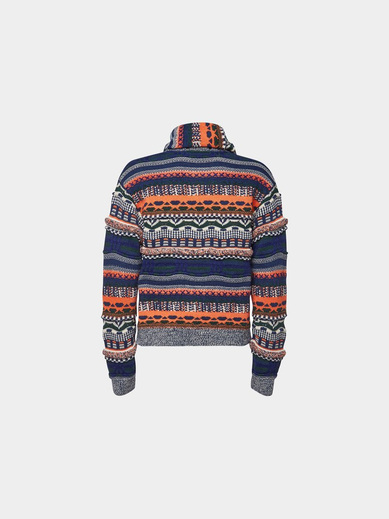 Carven Pullover mit Wolle MULTI STYLEBOP - 1