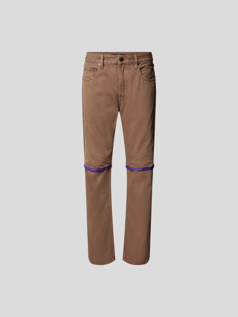 Jacquemus Jeans im Relaxed Fit Braun - 1
