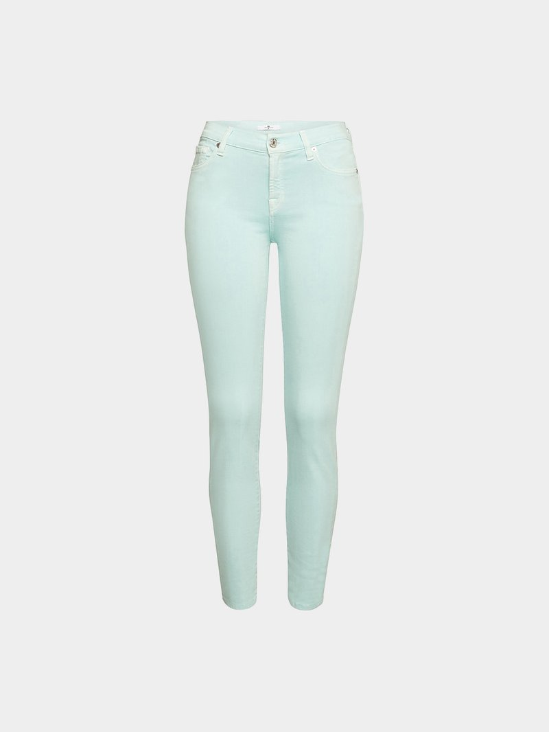 7 for all Mankind Jeans The Skinny Türkis - 1