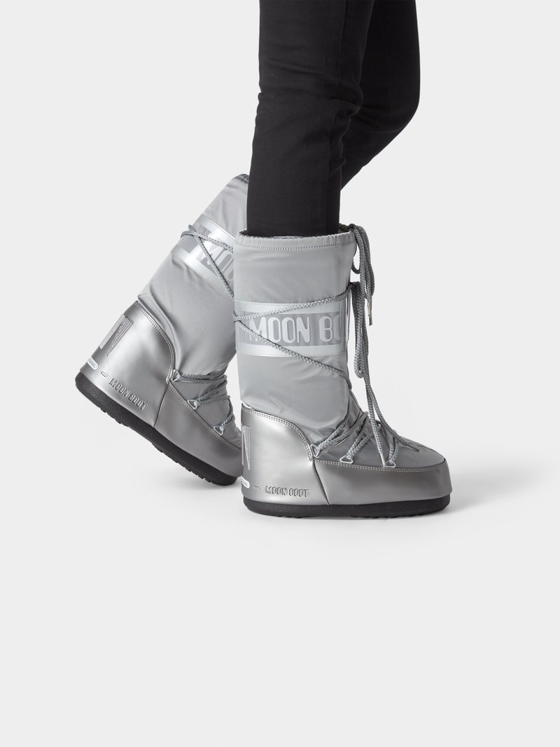 Moon Boot Moon Boot mit Brand-Detail in Silber - 1