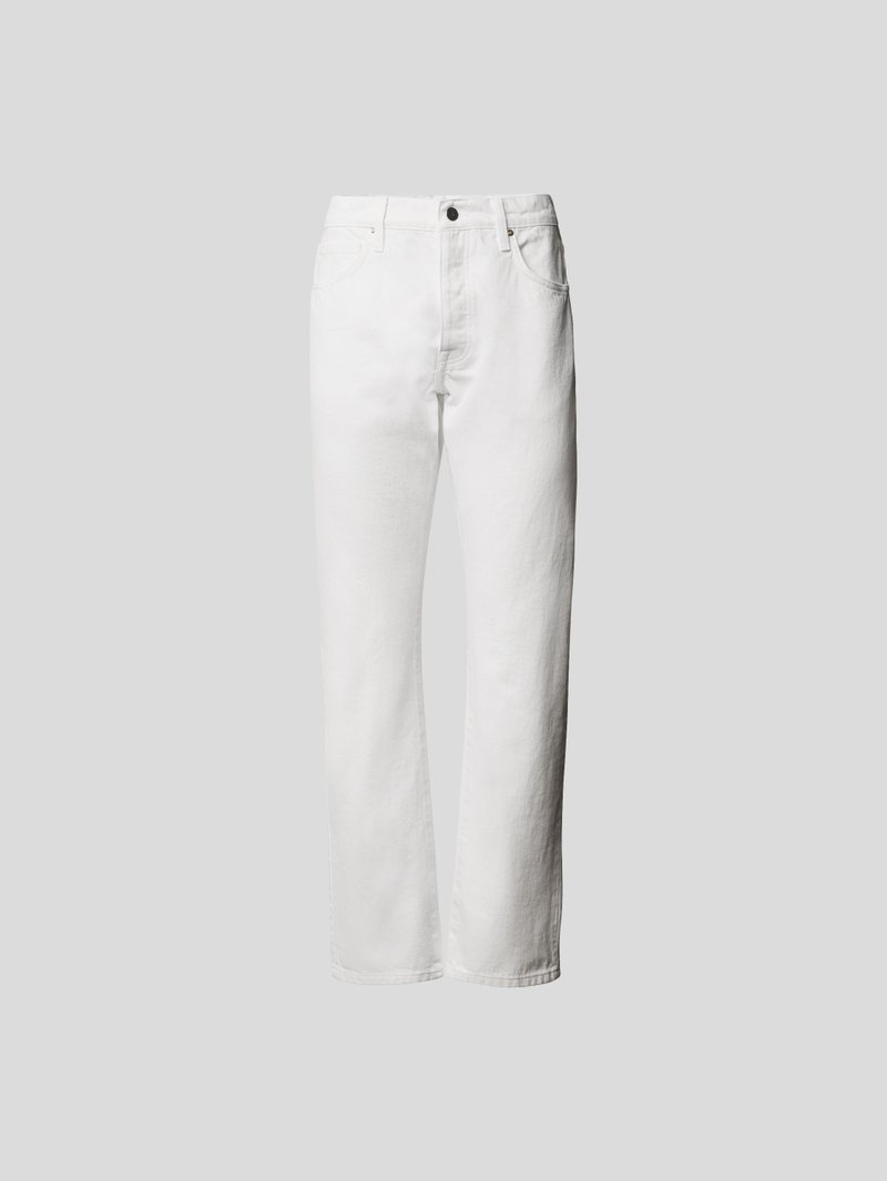 Frame Straight Fit Jeans Weiß - 1