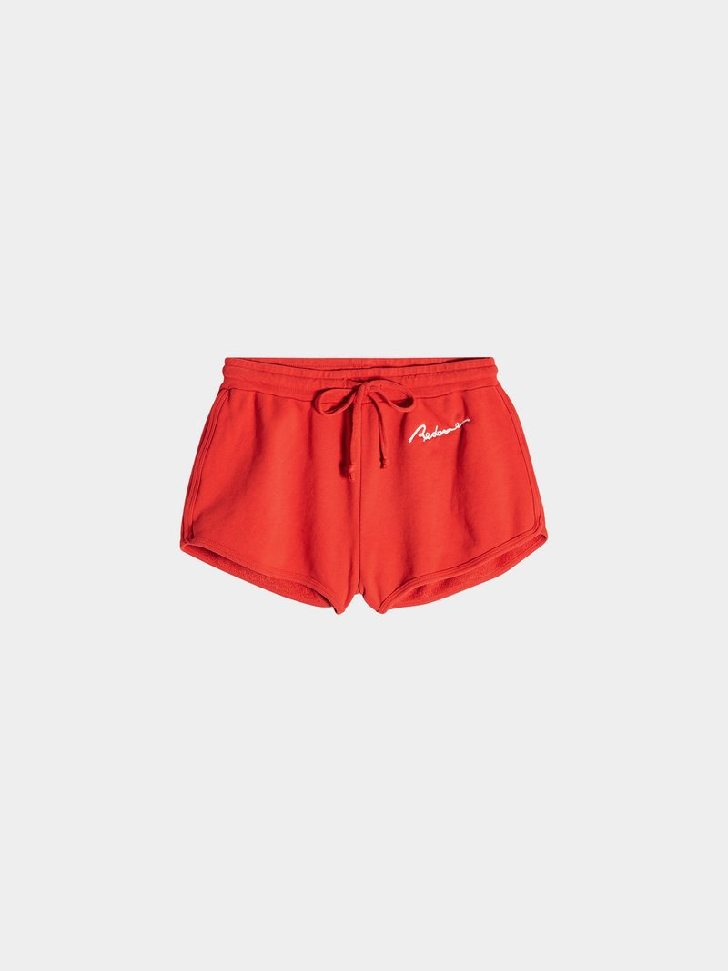 RE/DONE Shorts aus Baumwolle Rot - 1