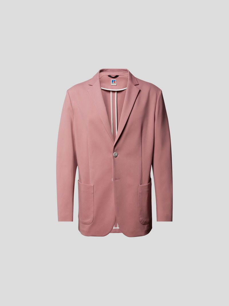 BOSS x Russell Athletic Sakko mit Kissing Buttons Rosa - 1