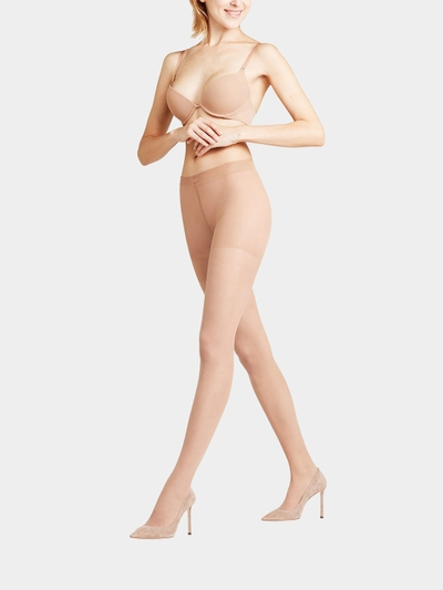 Falke Tights Shaping Panty 20 Transparent Matt mit Stretch-Anteil Beige - 1