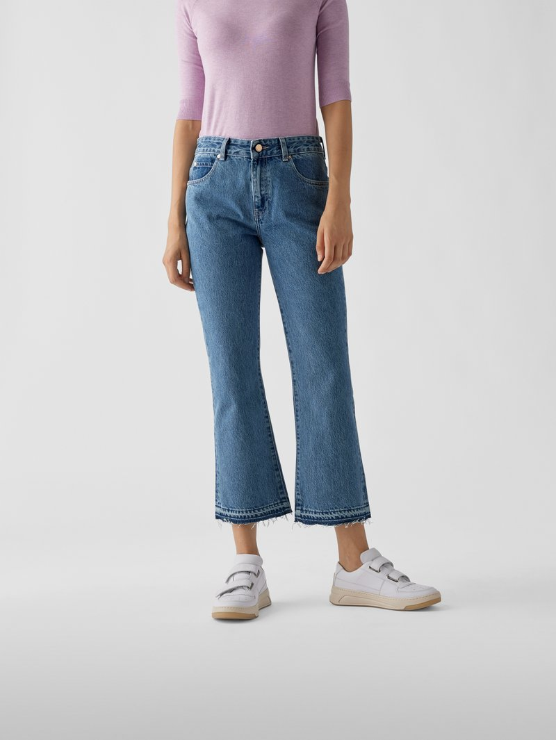 RED Valentino Mid Rise Relaxed Fit Jeans Blau - 1