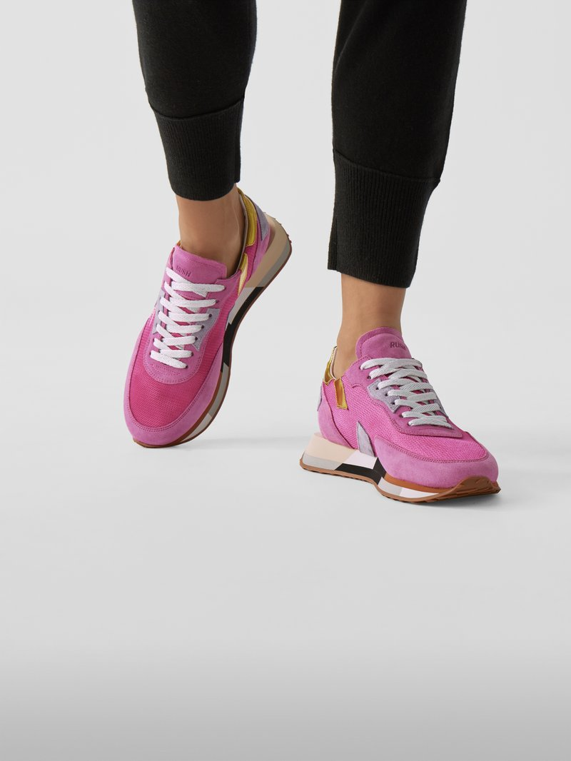 GHŌUD Sneaker mit Material-Mix in Rosa - 1