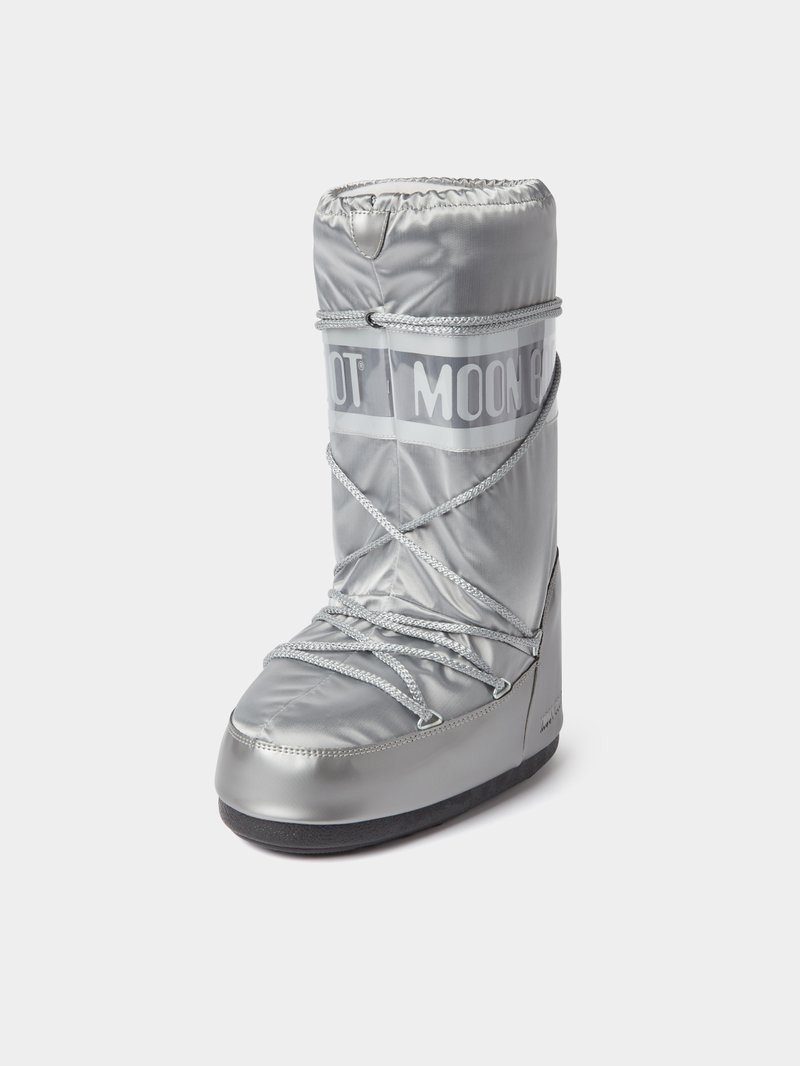 Moon Boot Moon Boot mit Brand-Detail Silber - 1
