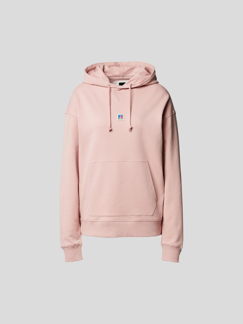 BOSS x Russell Athletic Hoodie mit Brand-Detail Rosa - 1
