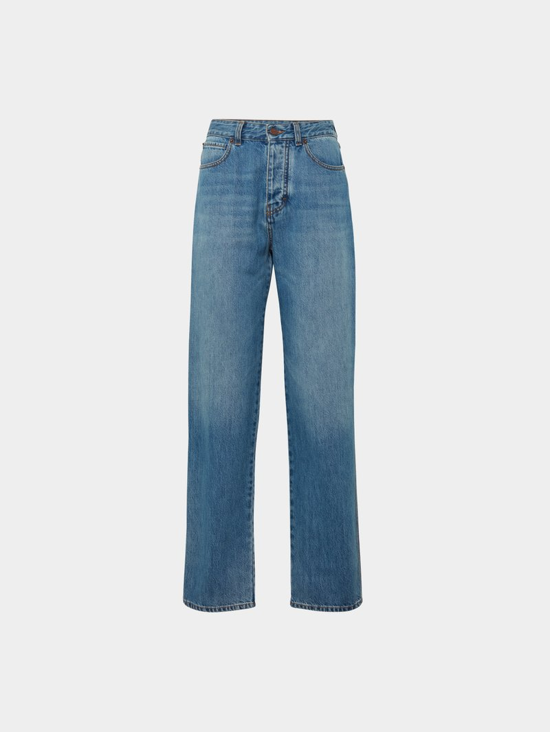 Victoria Victoria Beckham Relaxed Fit Jeans Blau - 1