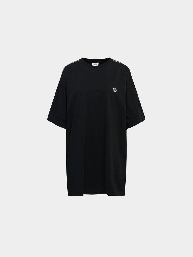 VETEMENTS T-Shirt mit Label-Details Schwarz - 1