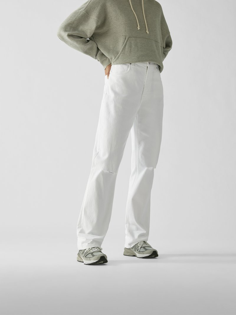 Etro Jeans im Destroyed-Look Offwhite - 1