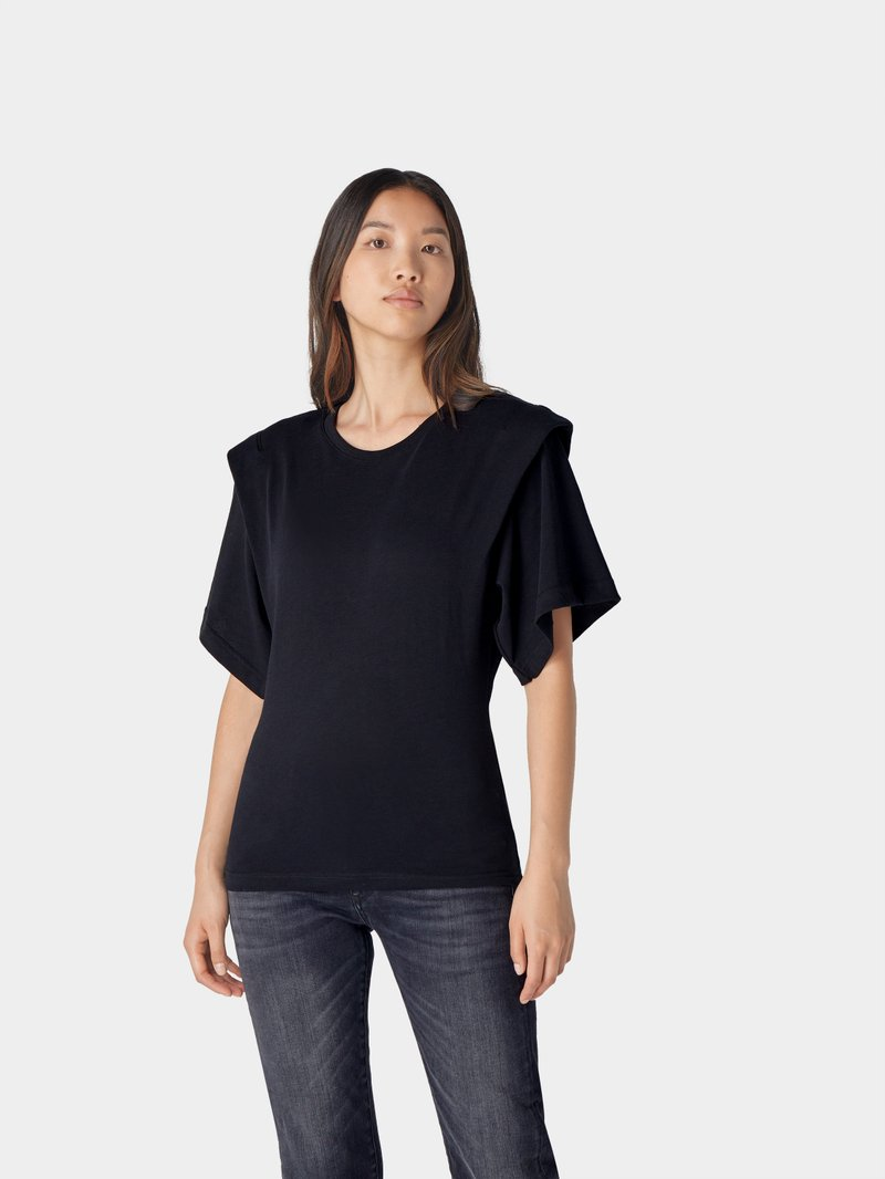 Iro Regular Fit T-Shirt Schwarz - 1