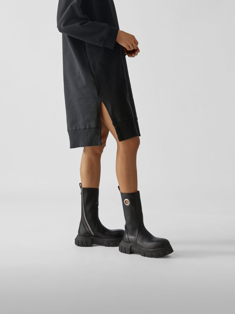 Rick Owens Boots mit Plateausohle in Braun - 1