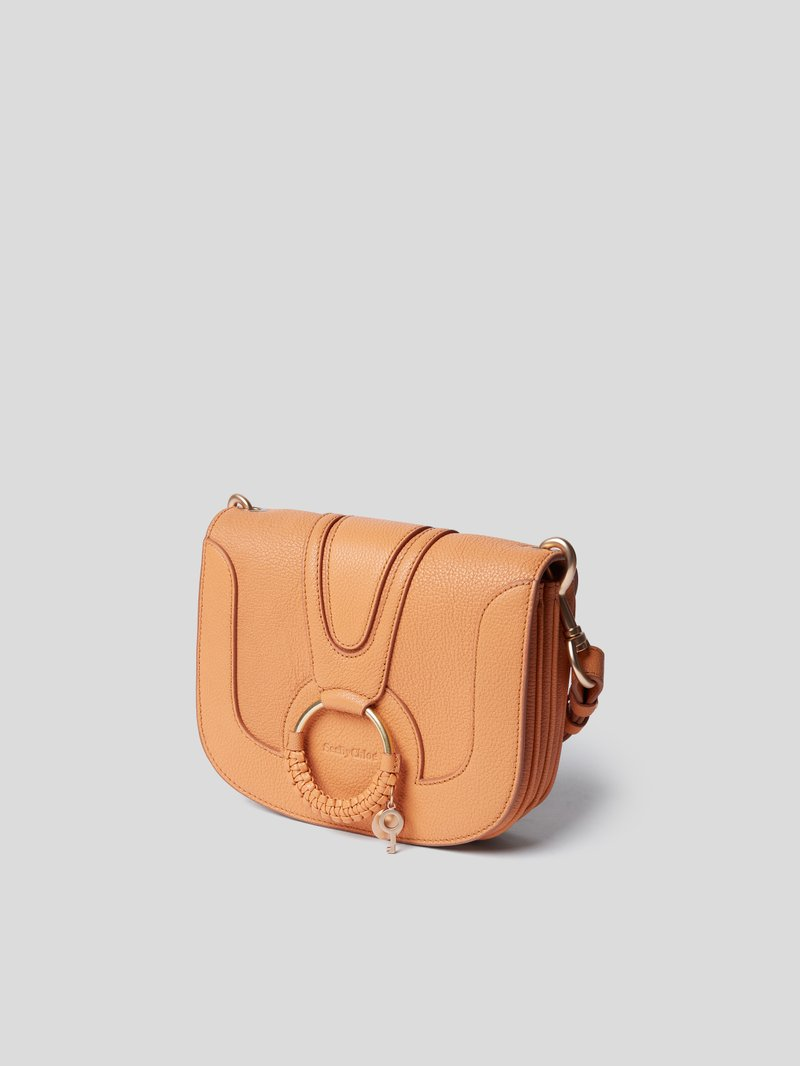 See by Chloé Saddle Bag mit Anhänger Rosa - 1