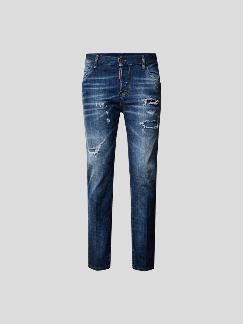 Dsquared2 Jeans im Destroyed-Look Blau - 1