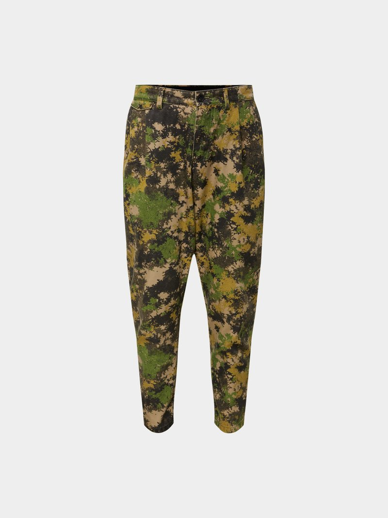 2DY4 Drykorn 2DY4 Hose mit Camouflage-Muster Grün - 1