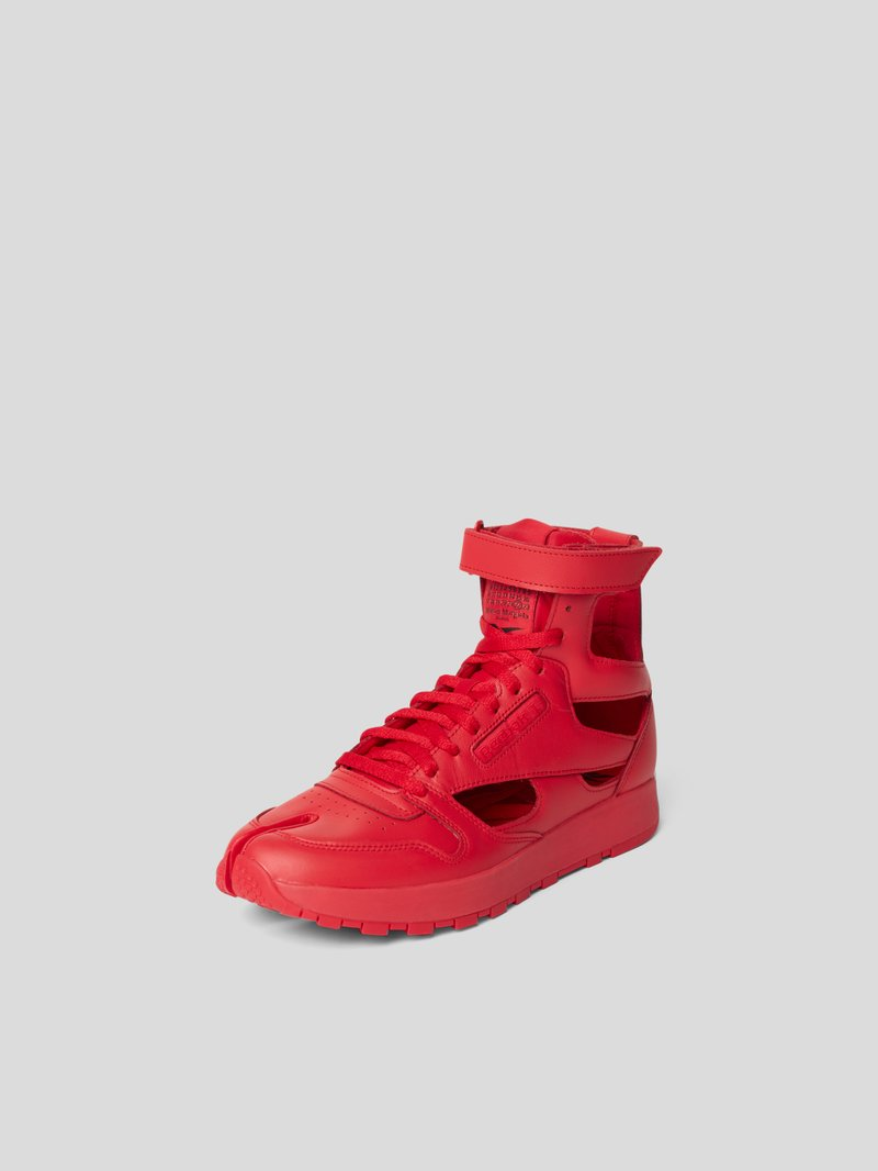 Maison Margiela High-Top-Sneaker mit Cut Outs Rot - 1