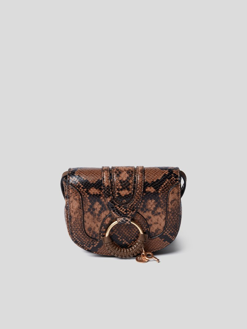 See by Chloé Crossbody Bag in Reptil-Optik Hellbraun - 1