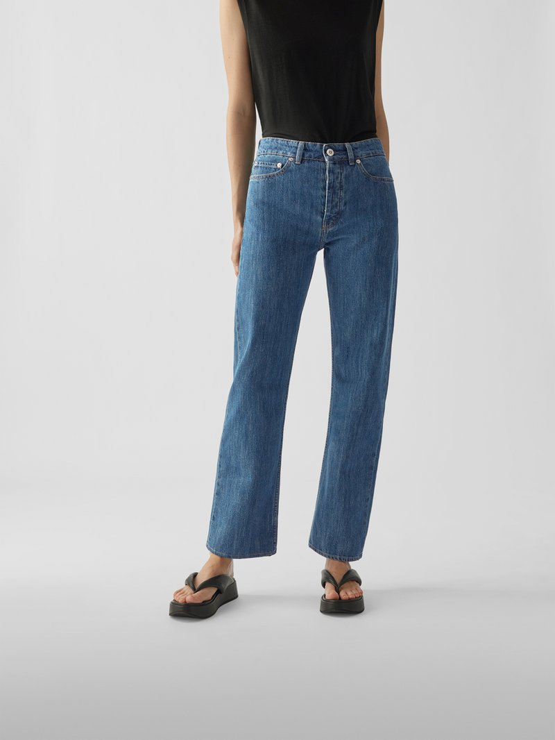 Our Legacy Modische Straight Leg Jeans Jeans - 1