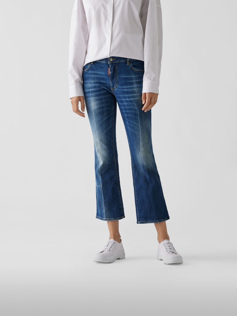 Dsquared2 Mid Rise Bootcut Jeans Jeans - 1
