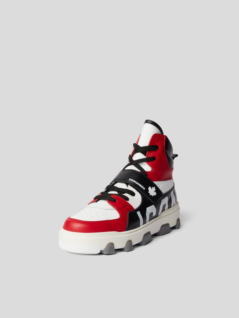 Dsquared2 High-Top-Sneaker mit Brand-Detail - 1