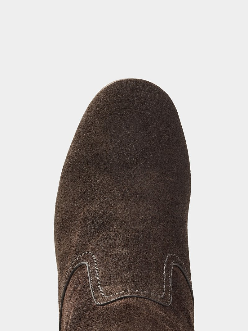 Ankle Boots Yvonne aus Veloursleder See by Chloé online kaufen - 1
