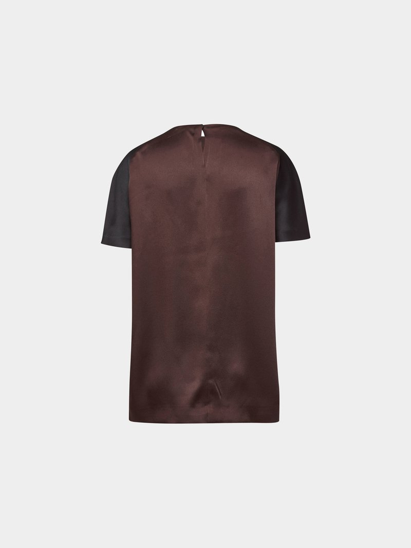 Haider Ackermann Bluse im Two Tone Look MULTI STYLEBOP - 1