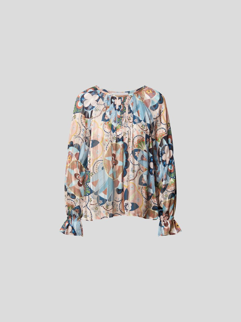 See by Chloé Bluse mit floralem Muster Rosa - 1