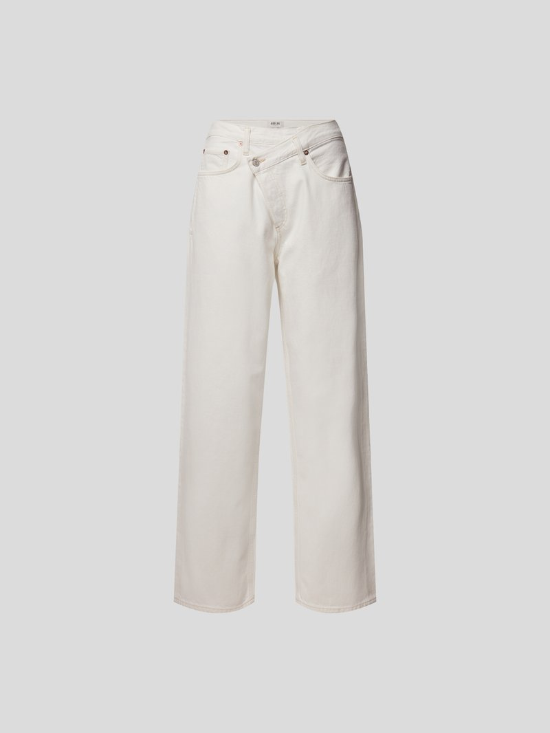 AGOLDE Loose Fit Jeans Weiß - 1