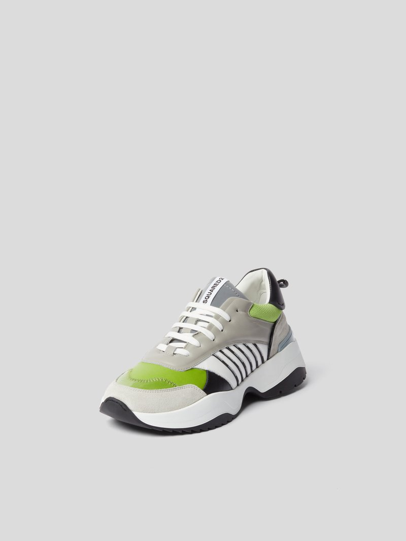 Dsquared2 Sneaker mit Plateausohle Weiß - 1