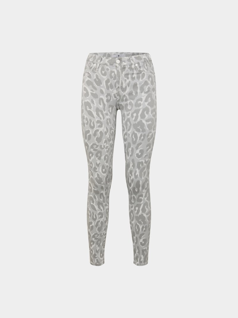7 for all Mankind Jeans mit Animal-Print - 1