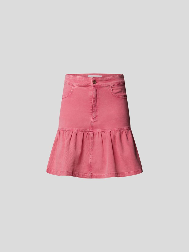 See by Chloé Jeansrock mit Brand-Details Rosa - 1