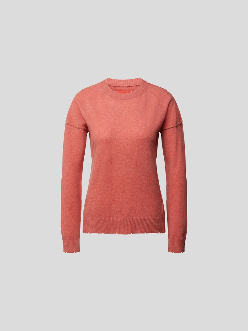 Zadig & Voltaire Pullover mit Arm-Patches Rot - 1
