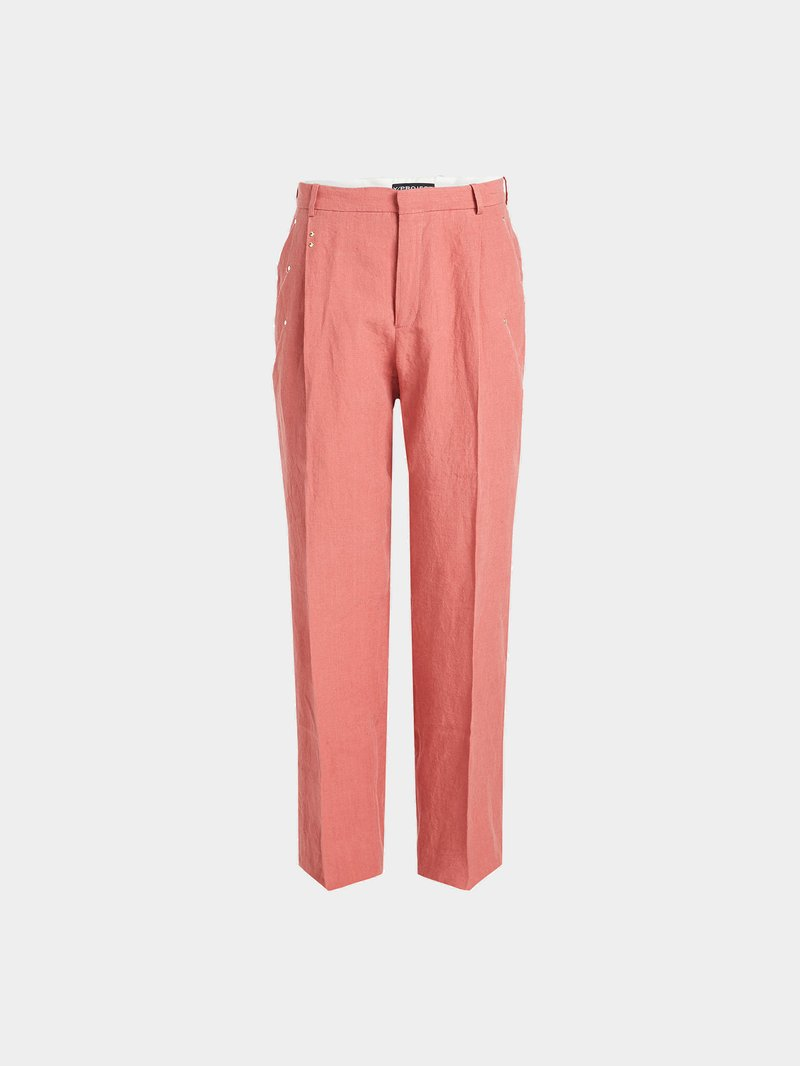 Y/Project Chinos aus Baumwolle Rosa - 1
